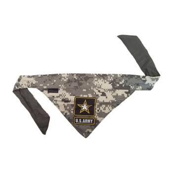 US Army Pet Reversible Bandana - Medium