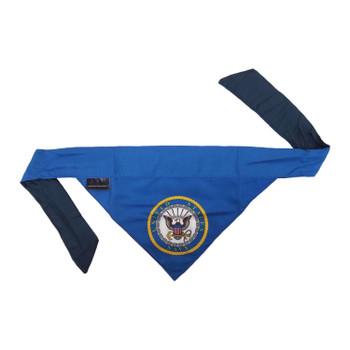 US Navy Pet Reversible Bandana - Large