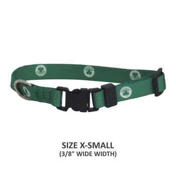 Boston Celtics Pet Nylon Collar - Small