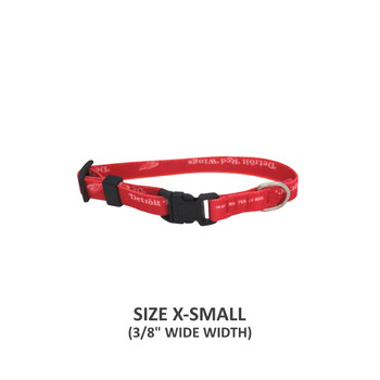 Detroit Red Wings Pet Nylon Collar - Small