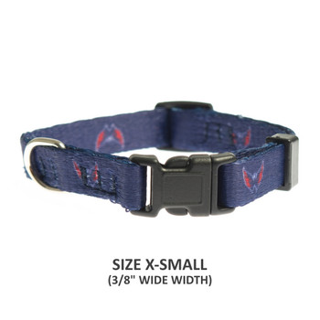 Washington Capitals Pet Nylon Collar - Small