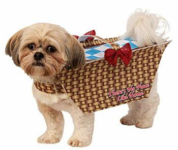 Wizard Of Oz Toto Basket Pet Costume
