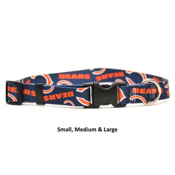 Chicago Bears Nylon Collar