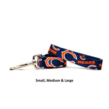 Chicago Bears Nylon Leash