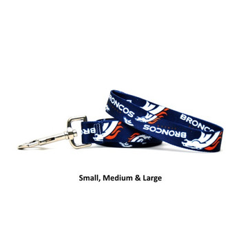Denver Broncos Nylon Leash