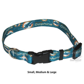 Miami Dolphins Nylon Collar