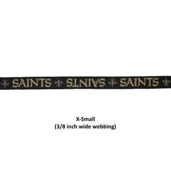 Hunter MFG 5//8-Inch New Orleans Saints Adjustable Harness X-Small