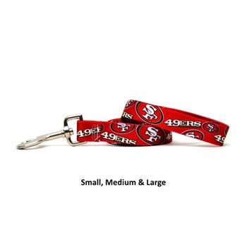 San Francisco 49ers Nylon Leash
