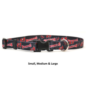Tampa Bay Buccaneers Nylon Collar