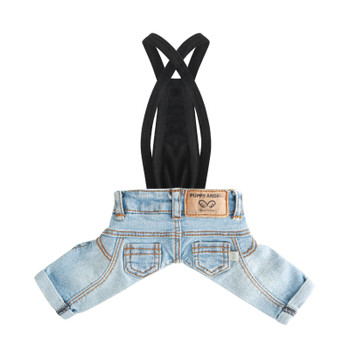 Puppy Angel Geolgine HQ Washed Denim Pants - Lt Blue