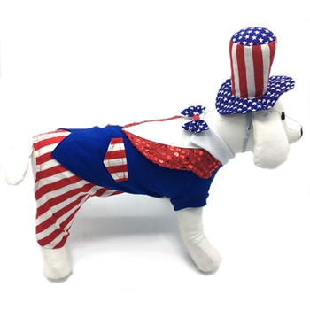 Uncle Sam Pet Dog Costume