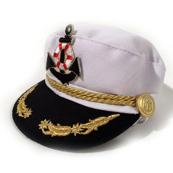 Admirals Deluxe Pet Dog Cap