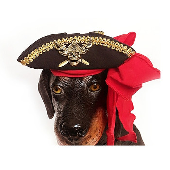 Buccaneer Pirate Costume Pet Dog Hat