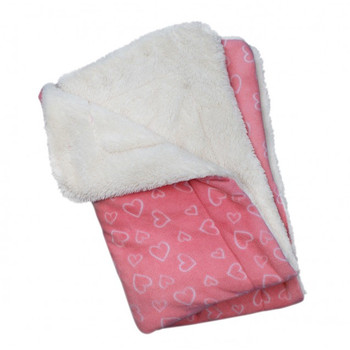 Blush of Love Fleece Turtleneck Pet Dog Pajamas & Optional Blanket