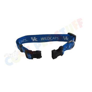 Kentucky Wildcats Pet Reflective Nylon Collar