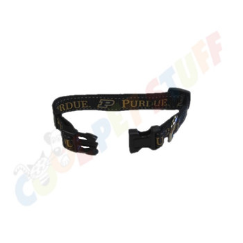 Purdue Boilermakers Pet Reflective Nylon Collar