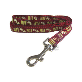 Florida State Seminoles Pet Reflective Nylon Leash