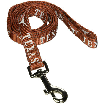 Texas Longhorns Pet Reflective Nylon Leash