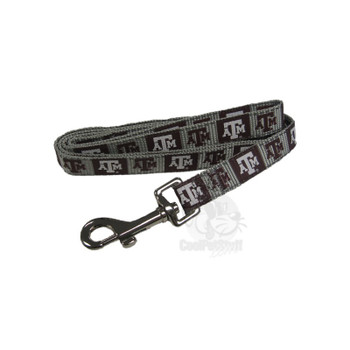 Texas A&M Aggies Pet Reflective Nylon Leash