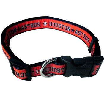 Houston Astros Pet Collar