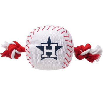 Houston Astros Nylon Baseball Rope Tug Toy