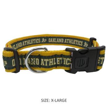 Oakland A's Pet Collar - PFATH3036-0001