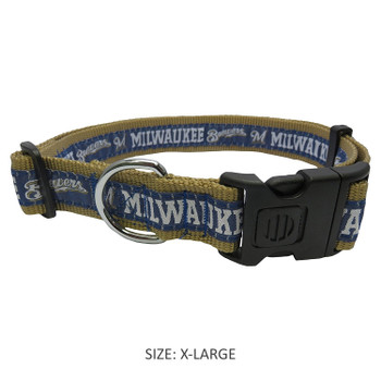 Milwaukee Brewers Pet Collar