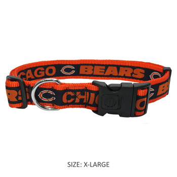 Chicago Bears Pet Collar
