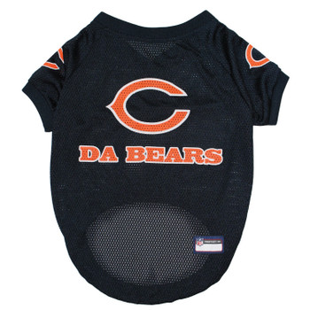 "Chicago Bears ""Da Bears"" Pet Jersey - Small"