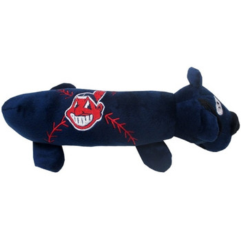Cleveland Indians Plush Tube Pet Toy