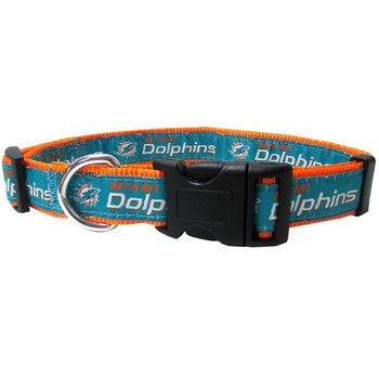 Miami Dolphins Pet Collar