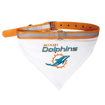 Miami Dolphins Pet Collar Bandana