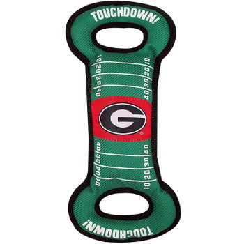 Georgia Bulldogs Field Pull Pet Toy