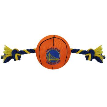 Golden State Warriors Pet Nylon Basketball
