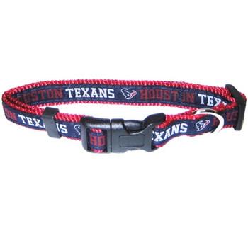 Houston Texans Pet Collar - PFHOU3036-0001