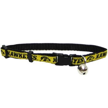 Iowa Hawkeyes Breakaway Cat Collar