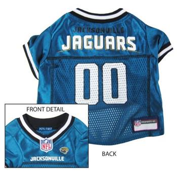Jacksonville Jaguars Dog Jersey - pfjac4006-0002
