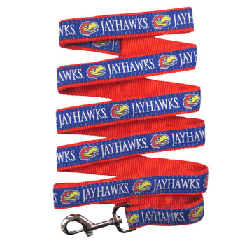 Kansas Jayhawks Pet Leash by Pets First