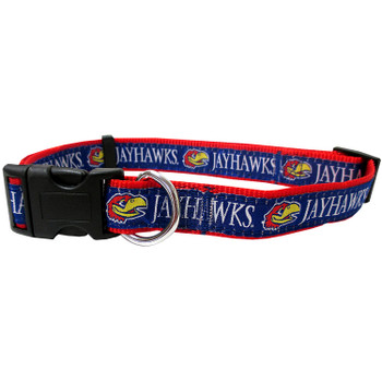 Kansas Jayhawks Pet Collar by Pets First