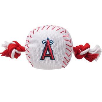 Los Angeles Angels Nylon Baseball Rope Tug Toy