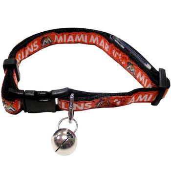 Miami Marlins Breakaway Cat Collar