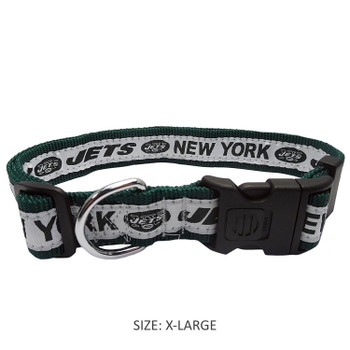 New York Jets Pet Collar