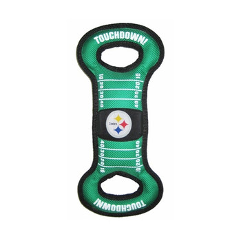 Pittsburgh Steelers Field Pull Dog Toy