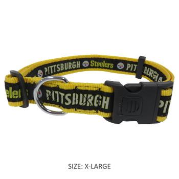 Pittsburgh Steelers Pet Collar