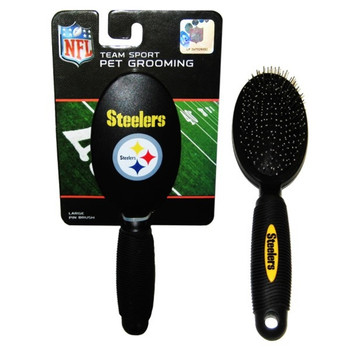 Pittsburgh Steelers Pet Grooming Brush