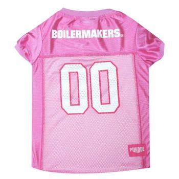Purdue Boilermakers Pink Pet Jersey