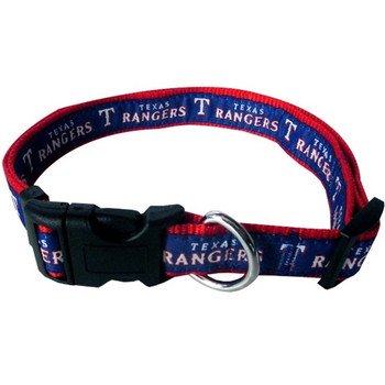 Texas Rangers Pet Collar - PFRAN3036-0001