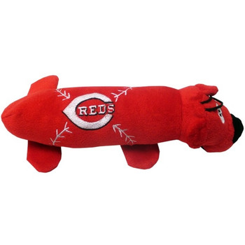 Cincinnati Reds Plush Tube Pet Toy