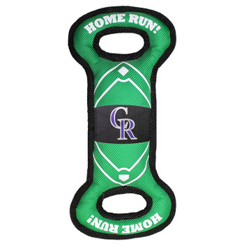 Colorado Rockies Field Pull Pet Toy