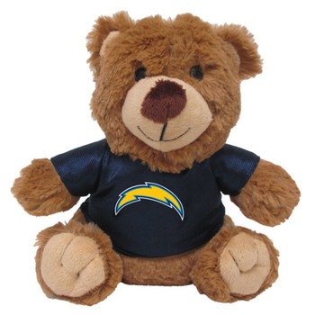 Los Angeles Chargers Teddy Bear Pet Toy